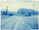 006- [Unidentified train shed with switching tracks] In the Boston & Albany R.R. – Boston Yard...