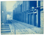 012- [Unidenitfied Building with Train Tracks] In the Boston & Albany R.R. – Boston Yard...