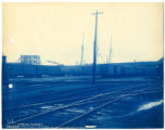019- Looking towards Fort Point Channel from Station Platform. In the Boston & Albany R.R. –...