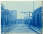 026- Lehigh St. Crossing at Engine House Looking West. In the Boston & Albany R.R. – Boston...