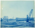 036- Crane from West of Lehigh St. In the Boston & Albany R.R. – Boston Yard Collection.