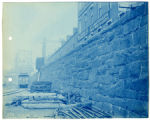 038- Orange Lane Wall South Side of Tracks. In the Boston & Albany R.R. – Boston Yard...