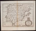 05- A new map of Iberia Europæa alias Celtiberia or Ancient Spain. Showing its principal...